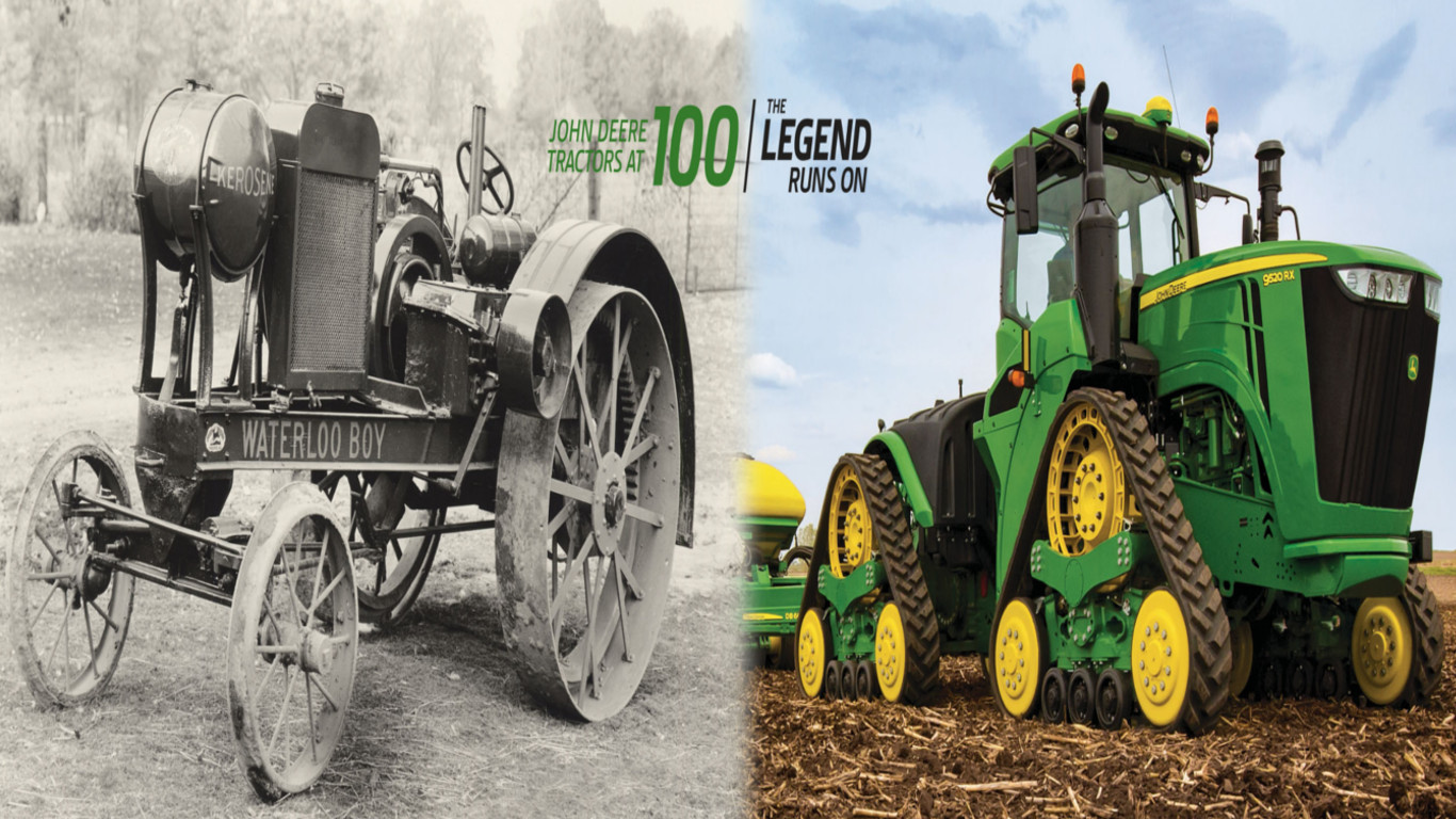 100 Years Of John Deere Tractors Tfm