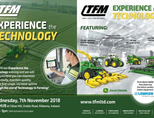 EXPERIENCE THE TECHNOLOGY – 07TH NOVEMBER 2018